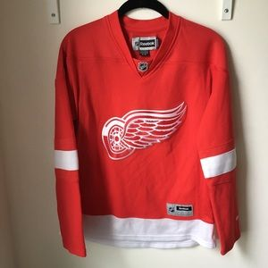 Red Wings Jersey Blank Back size S